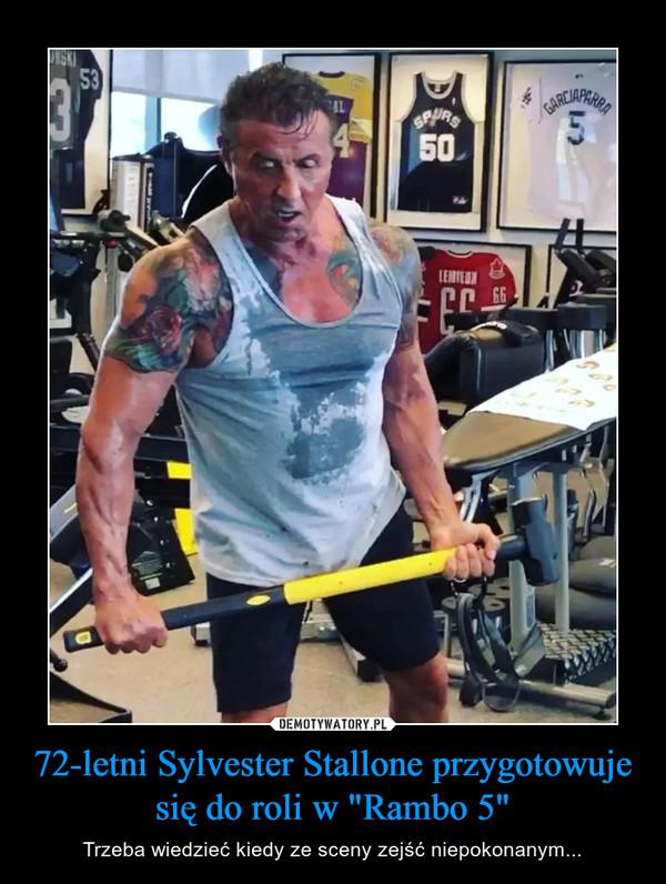 """72-letni Sylvester Stallone przygotowuje się do roli w """"Rambo 5"""" – Trzeba wiedzieć kiedy ze sceny zejść niepokonanym..."""